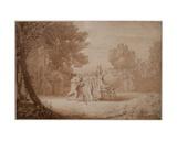 Rebecca at the Well, 1807 Giclee Print by John White Abbott