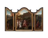 Triptych of Job, C.1500-24 Giclee Print by Hieronymus Bosch