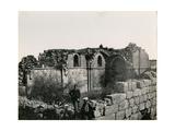Ruins of the Crusader Magna Mahomaria, Church at Al Bireh, 1850S Giclee Print by Mendel John Diness