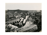 Ruins at Capernaum, 1850s Giclee Print by Mendel John Diness