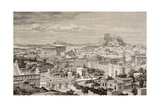 Artist's Impression of Athens, at the Time of the Emperor Hadrian, from 'El Mundo Ilustrado',… Giclee Print by  European School