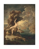 Perseus and Adromeda Giclee Print by Paolo de Matteis