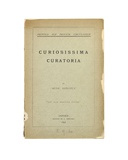 Title Page of 'Curiosissima Curatoria' by 'Rude Donatus', Oxford, 1892 Giclee Print by Charles Lutwidge Dodgson