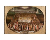The Exodus of the Twelve Tribes of Israel with the Ark of the Covenant Giclee Print by Antoine Caron