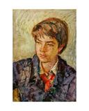 Pioneer Boy, 1970s Giclee Print by Konstantin Lekomtsev