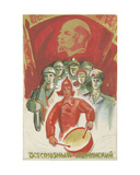 The Lenin All-Union Komsomol, C.1960s Giclee Print by Vadim Petrovich Volikov
