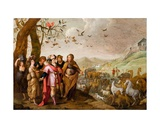 Noah Entering the Ark Giclee Print by Hans III Jordaens