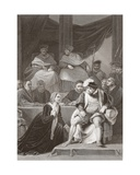 Trial of the Marriage of Henry Viii, Engraved by A.H. Payne Giclee Print by Robert Smirke