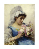 The Bouquet Giclee Print by Federigo Andreotti