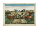 A View of the Foundling Hospital Giclee Print