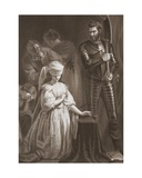 Execution of Mary Queen of Scots, Engraved by A.H. Payne Giclee Print by John Opie