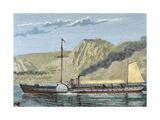 Robert Fulton's Steamboat Giclee Print