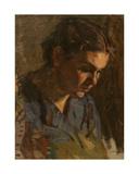 Portrait of a Woman, 1950s Giclee Print by Konstantin Lekomtsev