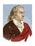 Schiller, Johann Christoph Friedrich Von (1759-1805). German Poet, Philosopher, Historian, and… Giclee Print