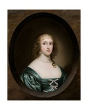 Portrait of Lady Bowyer, 1636 Giclee Print by Cornelius I Johnson