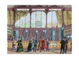Paris Universal Exhibition (1878). Installation by J. Hermann Lachapelle, Continuous Equipment… Giclee Print