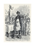 Ginger Beer Salesman in the 1870s Giclee Print by Gustave Dore