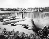 Niagra Falls in the Snow, C.1850-70 Photographic Print by Francis Frith