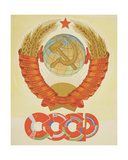 The Emblem of the Ussr, C.1960s Giclee Print by Vadim Petrovich Volikov