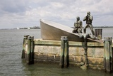 American Merchant Mariners' Memorial in Battery Park Photographic Print