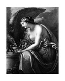 Hebe, Engraved by Domenico Cunego Giclee Print by Gavin Hamilton
