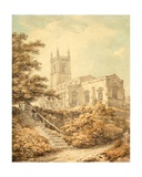 South East Aspect of the Church at Odell Giclee Print by Thomas Hearne