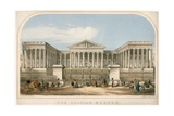 The British Museum Giclee Print by Augustus Butler