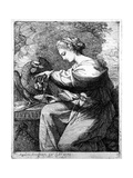 Hebe, 1770 Giclee Print by Angelica Kauffmann
