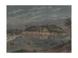 Fairmount Waterworks, Philadelphia, Pa, 1848 Giclee Print by Augustus Kollner