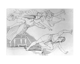 Orestas Pursued by the Furies, 1795 Giclee Print by John Flaxman