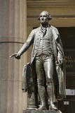 George Washington Statue Outside the Federal Hall National Memorial Photographic Print