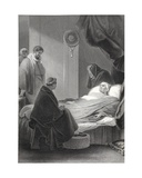 The Death of Cardinal Wolsey, Engraved by A.H. Payne Giclee Print by Robert Smirke