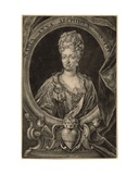 Maria Anna of Austria, Queen of Portugal Giclee Print by Christoph Weigel