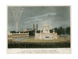 The Temple of Concord Created for the Peace of 1814 Giclee Print