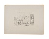 Slaves Concealing their Master from a Search Party, C.1880-90 Giclee Print by Adalbert John Volck
