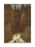 Hunter in the Forest, C.1814 Giclee Print by Caspar David Friedrich