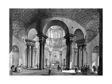 The Interior of Santa Costanza, from the 'Views of Rome' Series, 1758 Giclee Print by Giovanni Battista Piranesi
