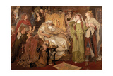 Cordelia's Portion, 1866 Giclee Print by Ford Madox Brown