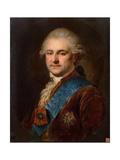 Portrait of Stanislaw II August Poniatowski Giclee Print by Johann Baptist Edler von Lampi