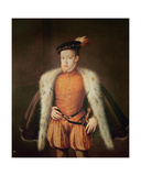 Don Carlos, Prince of Asturias and Portugal, C.1558 Giclee Print by Alonso Sanchez Coello