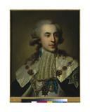 Portrait of Prince Platon Zubov, 1793 Giclee Print by Johann Baptist I Lampi