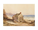 Cayton Cliff Mill, Near Scarborough Giclee Print by Anthony Vandyke Copley Fielding