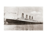 Rms Aquitania, Cunard Line Ocean Liner in 1913. from the Story of Seventy Momentous Years,… Giclee Print
