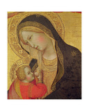 Virgin with Child Giclée-tryk af Bernardo Daddi