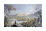 American Autumn, Starucca Valley, Erie Railroad, 1865 Giclee Print by Jasper Francis Cropsey