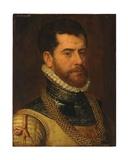 Portrait of a Gentleman, with the Monogram of Don Gaspar De Haro Y Guzman Giclee Print by Frans I Pourbus