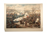 Battle of Pea Ridge, Ark, 1889 Giclee Print by  Kurz And Allison