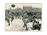 The International Football Match Giclee Print