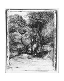 Memory of Bas Brhaut, 1858 Giclee Print by Jean Baptiste Camille Corot
