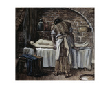 The Levite before the Corpse of His Wife James Tissot (1836-1902 French) Jewish Museum, New York… Giclee Print by James Tissot